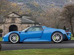 porsche 918 spyder blue. arrow blue porsche 918 spyder 1 of 18 contact d