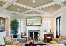 create contrast with the ceiling