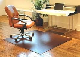 floor pad for office chair contemporary desks wood desk mat wooden hardwood best intended 14