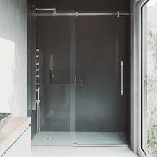 vigo luca adjule frameless sliding shower door shower doors shower
