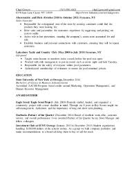 Abercrombie And Fitch Job Description For Resume