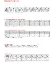 Size Chart Red Kap