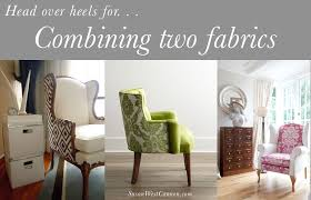 upholstery a really great chair two fabrics whether its for a child s room dining