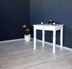 Massivholz Küchentisch Esstisch Schreibtisch Vintage Weiß Antik