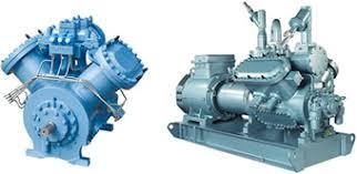 compresor refrigeracion. el ejemplo siguiente puede mostrar efecto de un compresor pistón tres etapas y cuál es diferencial en consumo energía entre la variación refrigeracion e