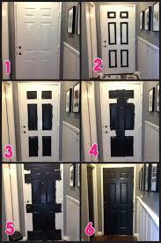 what color to paint front door 2Front Doors Cozy Front Door Painted Black For Inspirations Door