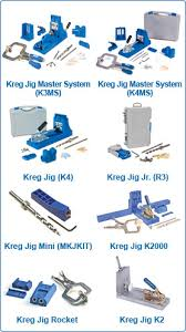 kreg jig settings. i found this image of the different jigs kreg has come out with, which one you have...k2 or k2000? jig settings