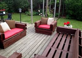 Image Of Outdoor Furniture Made From Pallets