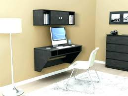 homcom floating wall mount office computer desk. How To Make A Floating Computer Desk Wall Mounted Office Ideas Large Size . Homcom Mount P