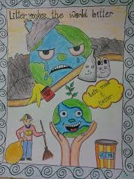 Cleanliness Chart For School Cleanliness Drawing In 2019 Earth Drawings Save Earth