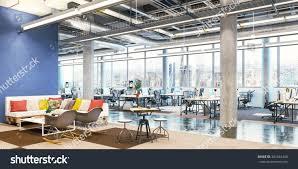 modern interior office stock. Modern Office Interior. Room. Business Center. Interior Stock E