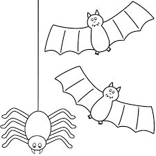 Small Picture Halloween Bat Coloring Pages Coloring Coloring Pages