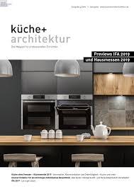 Küche Architektur 42019 By Fachschriften Verlag Issuu
