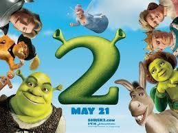 Shrek 2 Poster wallpaper em 2020 | Filmes de animação, Princesas da disney  punk, Shrek