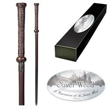 Harry Potter Replica Wand - Oliver Wood - The Shop That Must Not Be Named