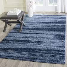 safavieh retro light blue blue rugs ret2693 6065