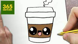 Follow me and learn how to draw cute coffee drink super easy. How To Draw A Coffee Cute Easy Step By Step Drawing Lessons For Kids Youtube