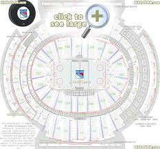 Msg Chart Seating Madison Square Garden Seating Chart Detailed Seat Numbers