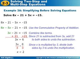 solving two step linear equations calculator jennarocca