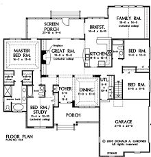 one story floor plans with dimensions. Interesting With Plan Of The Week One Story Home Designs House Floor PlansNarrow  To Plans With Dimensions