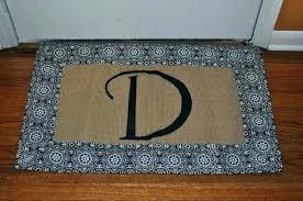 new monogrammed outdoor rugs outdoor floor mats front doors funny door home ideas t monogrammed doormat new monogrammed outdoor rugs