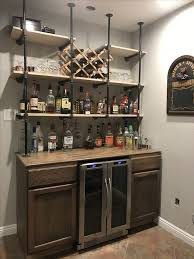 wet bar glass shelves design ideas wet bar shelves linds interior