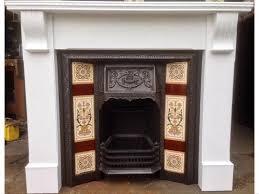 metal fireplace surround paint