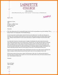Official Letter Head Format Example Of A Business Letter With Letterhead Filename