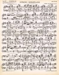 printable vintage sheet music spring printable antique sheet music via knickoftime net