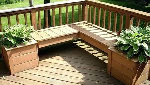 deck flower boxes designs planter box design ideas plans home26