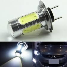 Hyundai I30 Side Light Bulb Replacement 12v Dc H7 Hid White Cob Led Bulb For Hyundai On High Beam