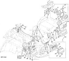 John deere parts diagrams john deere rear lights wiring