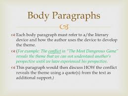 literary analysis this is a literary analysis essay which will 5 body paragraphs