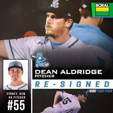 Sydney Blue Sox - Welcome back to local RHP Dean Aldridge ...