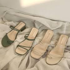 Yesstyle Shoe Size Chart Block Heel Sandals