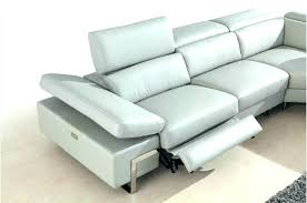 modern reclining sectional modern reclining sectionals leather reclining