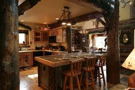 Log Home Interiors Kitchen  House Design Ideas - Log home pictures interior