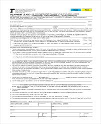 Free Commercial Lease Agreements Forms Truck Lease Form Ohye Mcpgroup Co