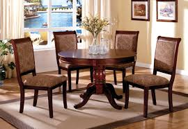 Round Kitchen Tables For 4 Dining Room Outstanding Contemporary Round Dining Room Sets
