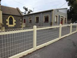 Woven Roll Top Wire Fence Decorative Wire Gates