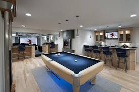pool room lighting. contemporary pool tables family room scandinavian with wallmounted tv off switch lighting 3