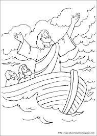 Bible Story Coloring Pages Stories Educational Fun Kids And