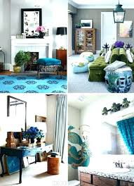Peacock Home Decor Ideas Awesome Inspirational Vibrant Decoration Theme  Inspired Hues Brighten In . Peacock Home Decor Ideas ...