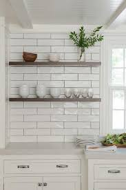 Ivory Floating Shelves Simple Dark Stained Floating Kitchen Shelving Transitional Kitchen