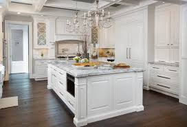inspiration for a huge timeless u shaped dark wood floor kitchen remodel in columbus with