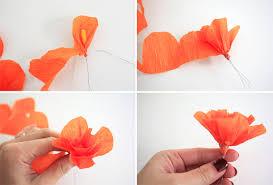 Flower Making With Crepe Paper Step By Step Lavenders Blue Diy Crepe Paper Hair Flowers
