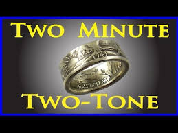 2 Minute <b>Antique</b> Patina How to oxidize <b>silver</b> jewelry Coin ring tools ...