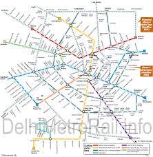 Delhi Metro Master Plan 2021 In 2019 Metro Map Delhi