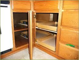 kitchen corner cabinet organizers blind upper solutions base hinges