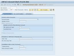 T Code To Display Chart Of Accounts In Sap Fsp3 Sap Tcode Display Master Record In Chart Accounts